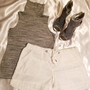 Mossimo white shorts